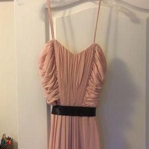 Thin strap sweetheart prom or wedding dress